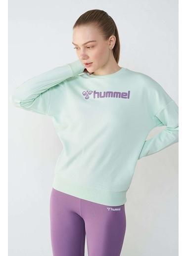 Hummel Kadın Sweatshirt Naomi 921113-6008 Yeşil